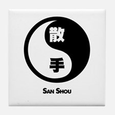 San Shou Tile Coaster