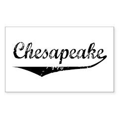 Chesapeake Rectangle Decal