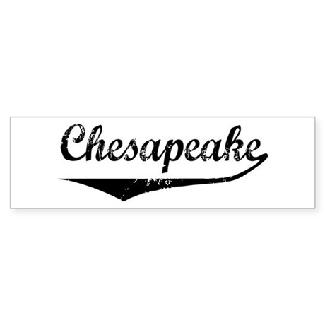Chesapeake Bumper Sticker