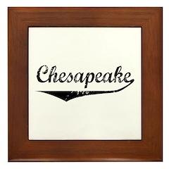 Chesapeake Framed Tile