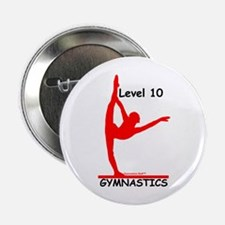 Gymnastics Button - Level 10