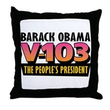 The People's President (1) Throw Pillow