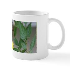 Yellowish Green Butterfly Mug