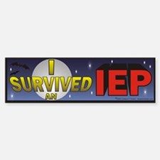 I Survived an IEP Bumper Stickers