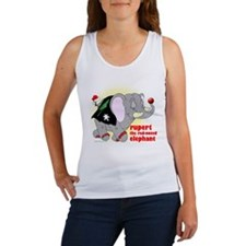 Rupert the Red-Nosed Elephant Women's Tank Top