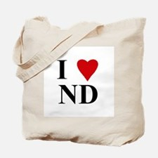 NORTH DAKOTA (ND) Tote Bag
