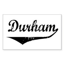 Durham Rectangle Decal