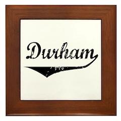 Durham Framed Tile