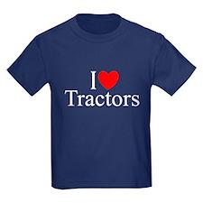 """""""I Love (Heart) Tractors"""" T"""
