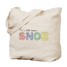 Cool Cloth diaper Tote Bag