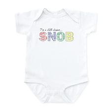 Cloth diaper snob Body Suit