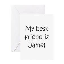 Cool Jamel Greeting Card