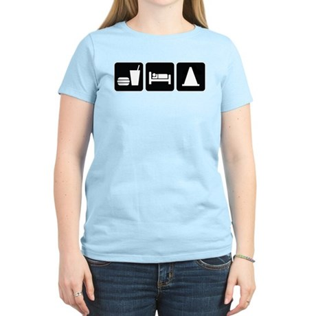 Eat Sleep AutoX Women's Light T-Shirt