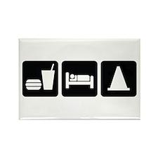 Eat Sleep AutoX Rectangle Magnet (10 pack)
