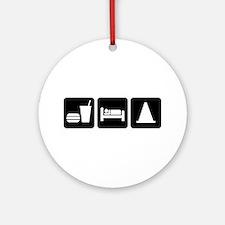 Eat Sleep AutoX Ornament (Round)