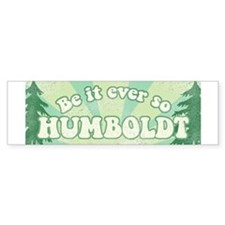 So Humboldt Bumper Bumper Sticker