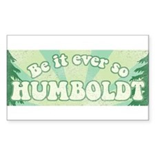 So Humboldt Rectangle Decal