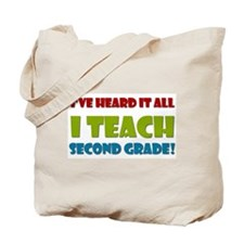 Second Grade Teacher Tote Bag
