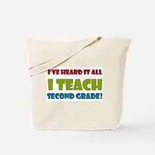 Second Grade Teacher Tote Bag