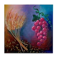 Cool Blood wine Tile Coaster