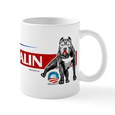 Pitbull Pee Obama Logo Mug