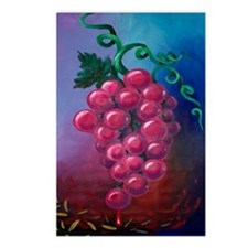 Cute Grapes Postcards (Package of 8)