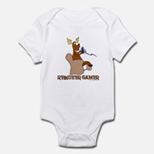 Reindeer Gamer. Infant Bodysuit