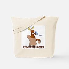 Reindeer Gamer. Tote Bag