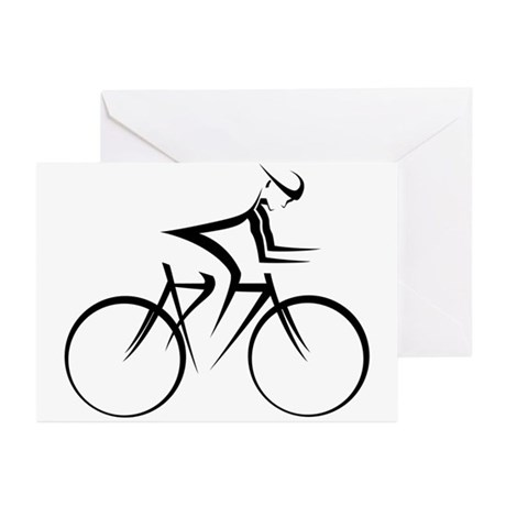 Cycling Greeting Cards (Pk of 20)