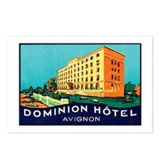 Dominion Hotel Avignon France Postcards (Package o