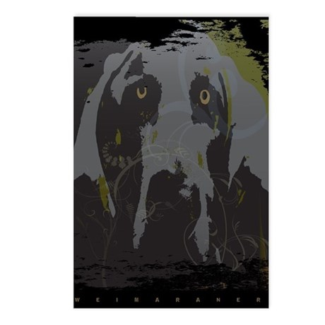 """""""Grey Ghost"""" Grungy Postcards (Package of 8)"""