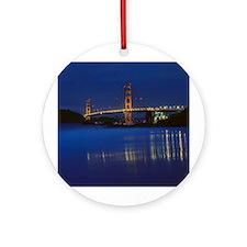 Golden Gate Bridge 2 Ornament (Round)