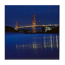 Golden Gate Bridge 2 Tile Coaster