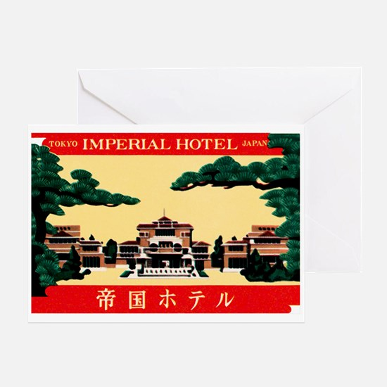 Imperial Hotel Tokyo Japan Greeting Card