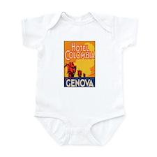Hotel Columbia Genoa Italy Infant Bodysuit