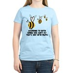 Funny slogan Bee Women's Light T-Shirt