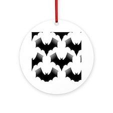 BLACK BATS Keepsake (Round)