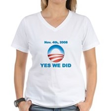 Obama - Yes We Did Shirt