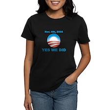 Obama - Yes We Did Tee