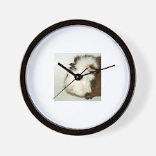 Bashful Guinea Pig Wall Clock