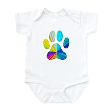 Paw Print Infant Bodysuit
