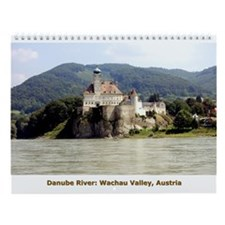 Danube River (with Captions) Wall Calendar