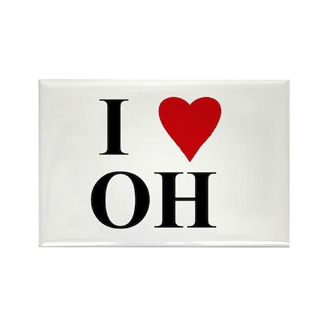 OHIO (OH) Rectangle Magnet