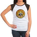 USS GRAY Junior's Cap Sleeve T-Shirt