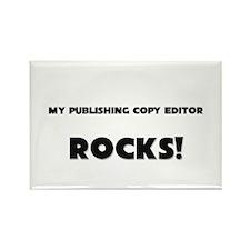 MY Publishing Copy Editor ROCKS! Rectangle Magnet