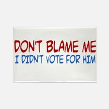 I Didn't Vote for Him Rectangle Magnet