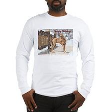 Cute Christmas rhodesian ridgeback Long Sleeve T-Shirt