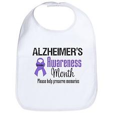 Alzheimer's Awareness Bib