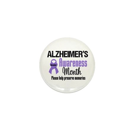 Alzheimer's Awareness Mini Button (10 pack)