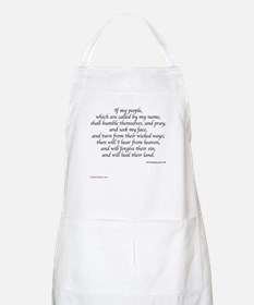 2 Chronicles 7:14 BBQ Apron